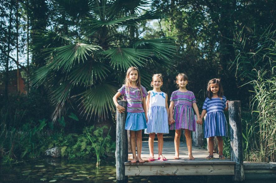 Tootsa cocoon child cool kids fashion dress