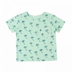 kidsagogo t-shirt palm tee cocoon child
