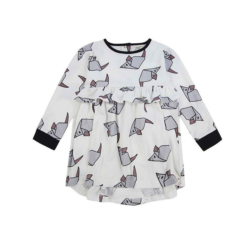turtledove cocoon child dress mouse