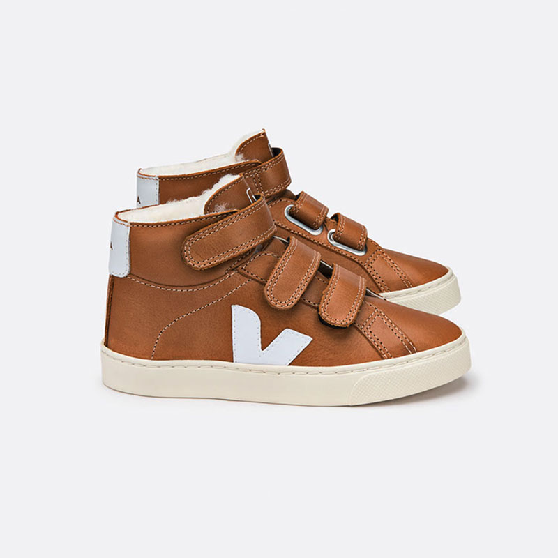 Sale - Mid Esplar Leather Velcro Trainers - Veja Veja AgqreO1m