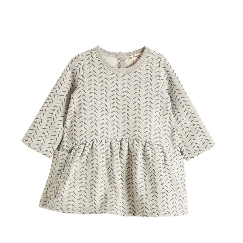 Bonnie Mob dress oral grey cocoon child