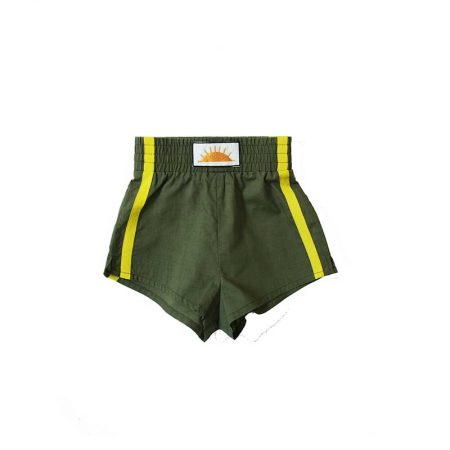 Bandy Button 'Desert Baby' Khaki Shorts Available to buy at Cocoon Child