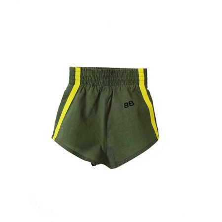 Bandy Button desert baby kaki shorts cocoon child