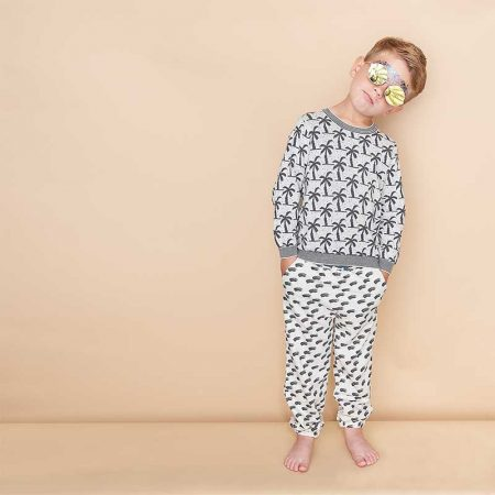 bonnie mob grey wave trousers cocoon