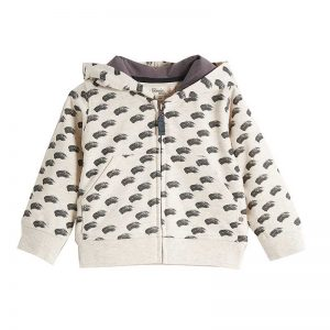 Bonnie Mob hoodie grey wave cocoon child uk