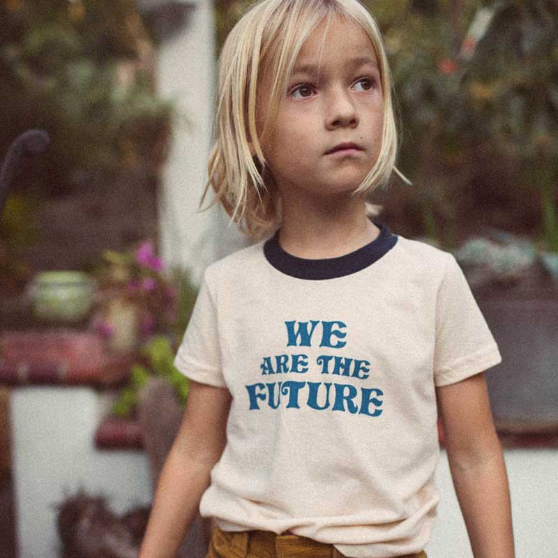 ddf8f3f54 The Bee and The Fox - 'We Are the Future' T-Shirt | Cocoon Child
