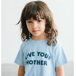 Love your mother Bee and the Fox kids t shirt cocoon child