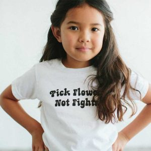 pick flowers not fights the Bee and the Fox kids