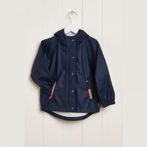 Grass & Air Kids Navy Raincoat at Cocoon Child