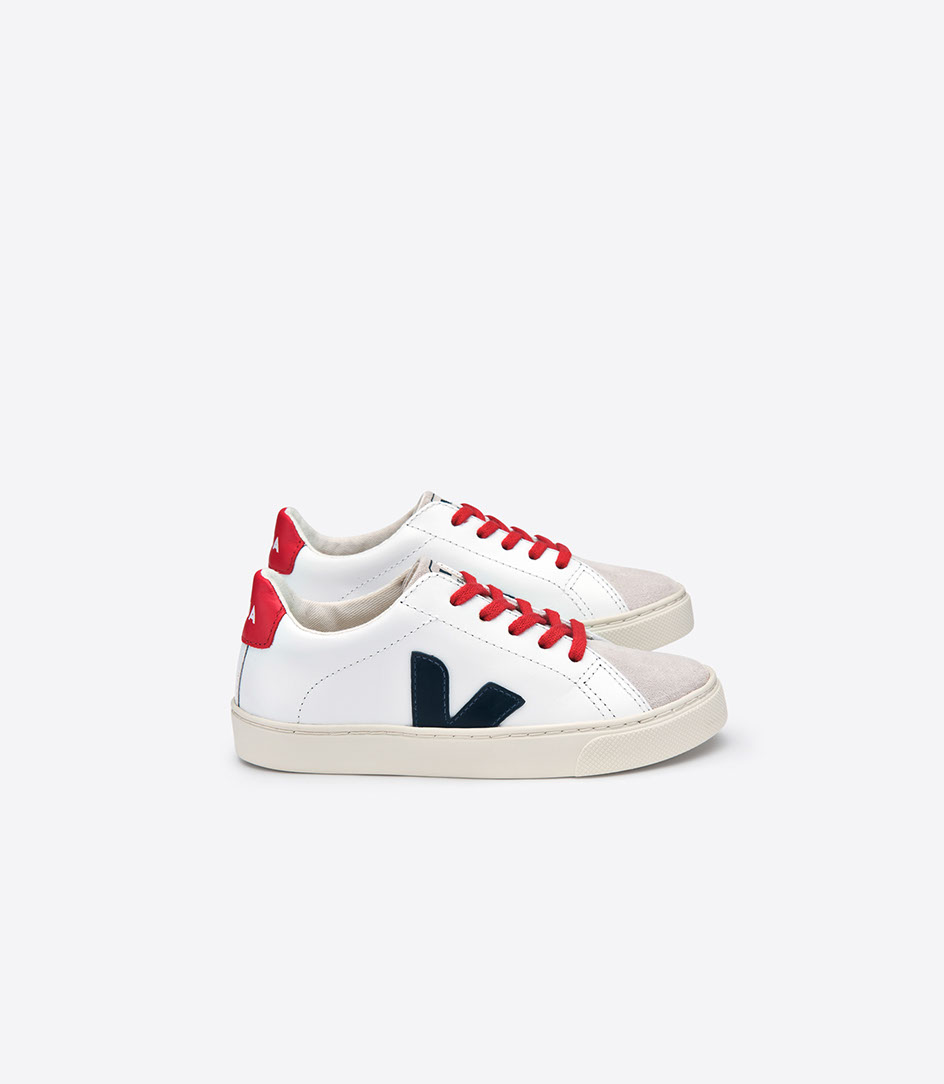 Tubería irregular cinta  Veja | Kids Trainers 'Esplar' Red and Blue With Laces | Cocoon Child