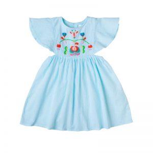 BLUE DRESS Kidsagogo Bali cocoon child