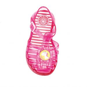 Pink unicorn jelly shoe cocoon child