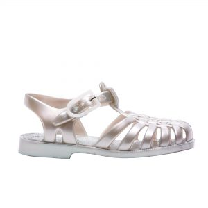 Sun silver jelly shoe cocoon child