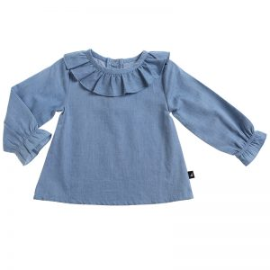Anarkid | Kids Chambray Smock Top - Available at Cocoon Child
