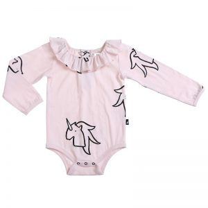Anarkid | Pink Unicorn Print Leotard Available to buy at Cocoon Child