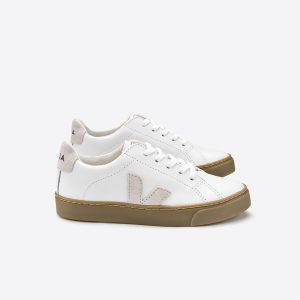 Veja Kids Trainers at Cocoon Child - Esplar Lace Extra White Pierre Natural Sole