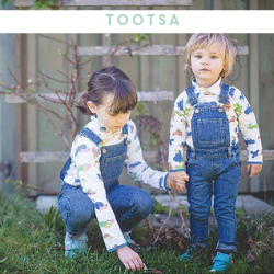 Tootsa Unisex Kids Clothing - Available at Cocoon Child