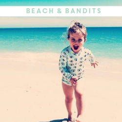 Beach & Bandits UV Protective Kids Swimwear - Available at Cocoon Child