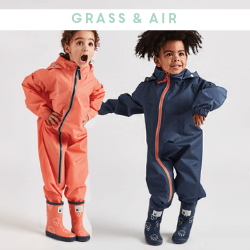 Grass & Air Children's Wellies and Wet Weather Clothing - Available at Cocoon Child