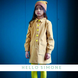 Hello Simone Kids Clothing - Available at Cocoon Child