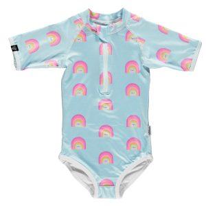 Beach and Bandits | Aloha Rainbow | UV Protective Kids Swimwear at Cocoon Child