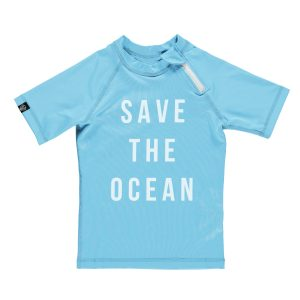 Beach and Bandits SS19 'Save the Ocean' Unisex Rash Vest at Cocoon Child