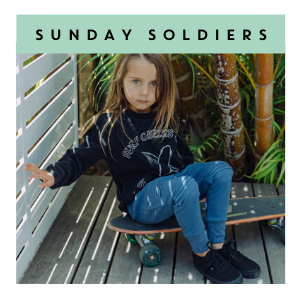 Sunday Soldiers | Kids Clothing at Cocoon Child