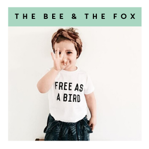 Thee Bee and The Fox |Kids Clothing at Cocoon Child