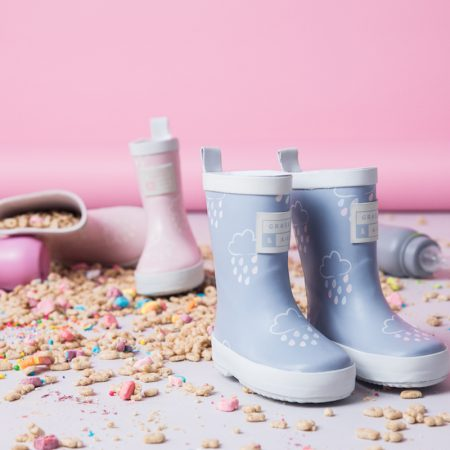 Grass and Air Kids Wellies at Cocoon Child