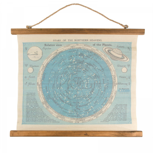 Vintage wall hanging I Constellation I Cocoon Child