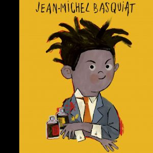 Front Cover Little People Big Dreams I Jean Michel Basquiat