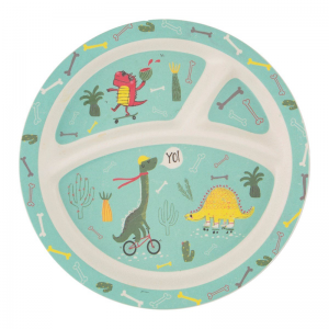 Bamboo Plate for kids I Sass and Belle I Cocoon Child