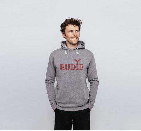 Rudie grey hoodie cocoon child